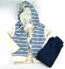 Conjunto Camiseta com Colete e Calça Arte Menor - 036272