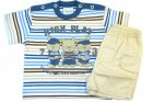 Conjunto camiseta e bermuda de ursinhos - Tilly Baby - 040540