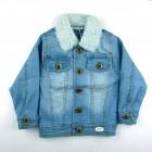 Jaqueta Jeans Com Gola de Pele Piang Pee - 038598