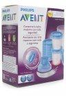 Kit de copos para armazenagem com 22 peças incluindo adaptador para o extrator de leite - Avent - 035331