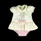 Macacão Curto Fem Anjos Baby - 035094