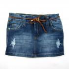 Minissaia Jeans Indigo Colcci Fun - 035224