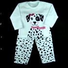 Pijama Dálmata Soft Cara de Criança - 038440