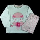 Pijama Longo Ovelhinha Cara de Criança - 038444