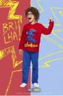 Pijama Longo Superssauro Cara de Criança - 038463