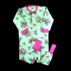 Pijama Macacão Feminino Floral Puc - 036188