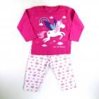 Pijama Suedine Unicórnio Cara de Criança - 030968