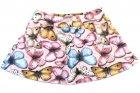Saia com shorts estampada com borboletas - Pituchinhus - 040295