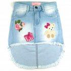 Saia Jeans Mullet -040238 - Pituchinhus