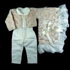 Saída de Maternidade Renda Especial e Pérolas - 038724