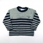 Suéter de Fio Listrado Noruega - 038369