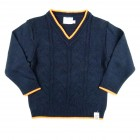 Sweater c Tranças Grandes Noruega - 033091