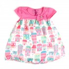 Vestido Baby Estampado Turma da Malha - 034962