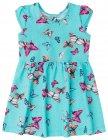 Vestido com estampa de borboleta - Brandili