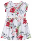 Vestido com estampa floral com cinto - Brandili - 040562