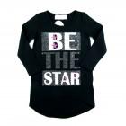 Vestido Cotton Detalhe Star Pituchinhu's - 038116