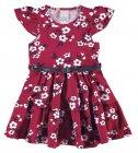 Vestido estampa floral com cinto - Malwee - 039696