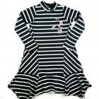 Vestido Listrado Barra Assimétrica Animê - 036116