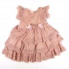 Vestido Maria Rosa Beth Bebê - 032471