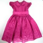 Vestido Pregas Saia Mio Bebe - 011825