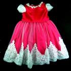 Vestido Renda e Pérolas na Saia Laços de Menina - 038568