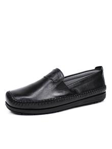 Sapato Comparini Casual Pespontos