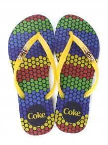 Chinelo Coca Cola Color Dots