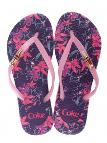 Chinelo Coca Cola Esportivo Bloom