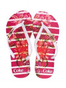 Chinelo Esportivo Coca Cola Bloom Stripers