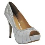 Sapato Peep Toe Seculo XXX em Cetim - 943-9966