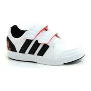 T�nis Branco Adidas Infantil Lk Trainer