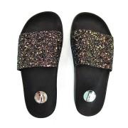 Chinelo Slide Glitter Vizzano