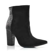Ankle Boots Com Glitter Vivaice