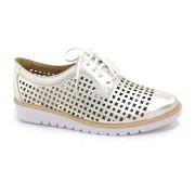 Sapato Oxford Conforto Prata Ramarim