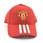 Boné Vermelho Adidas Manchester