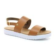Sandália Plataforma Com Sola Tratorada Lacolly