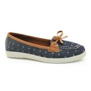 Sapato Dockside Azul Feminino Lacolly