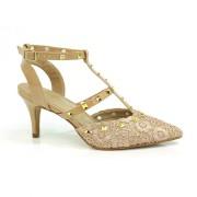 Sapato Chanel De Salto Baixo Cazzualen