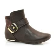 Ankle Boots Marrom Comfortflex
