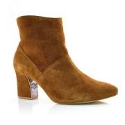 Ankle Boots De Couro Suzzara Marrom Ou Preto