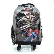 Mochila De Rodinhas Luxcel Batman X Superman
