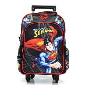 Mochila De Rodinhas Luxcel Superman