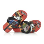 Chinelo Infantil Ipenam Hot Wheels Tyre
