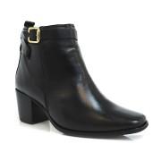Ankle Boot De Couro Suzzara