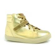 Tênis Sneakers Infantil Molekinha Dourado