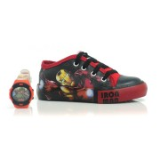 Tênis Infantil Iron Man Sugar Shoes + Brinde