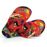 Chinelo Infantil Angry Birds Preto Ipanema