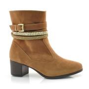 Ankle Boots Laserena Marrom Ou Preto