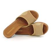 Sandália De Salto Baixo Feminino Azaléia
