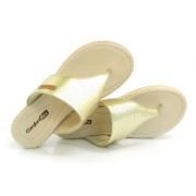 Birken Feminina Dourada Comfortflex